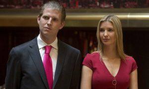 Donald Trump: i figli sono il bersaglio del web