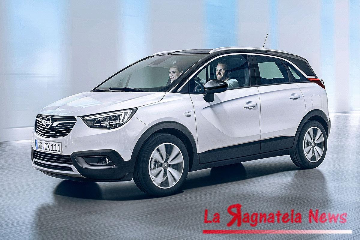 Opel Crossland X, al via la produzione in Spagna