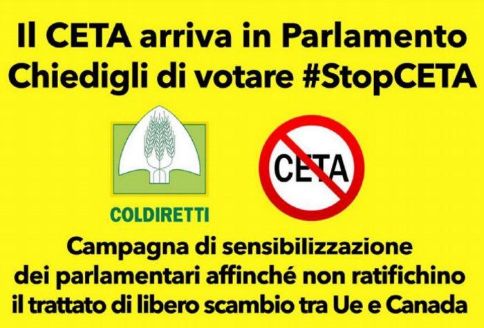 Tutti in piazza contro il CETA che tutela le multinazionali a danno del made in Italy