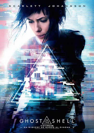 L'attesissimo GHOST IN THE SHELL è al cinema!