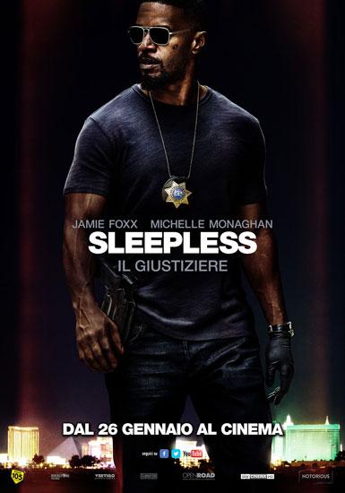 Jamie Foxx torna al cinema con Sleepless - il Giustiziere
