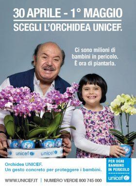 Anche a Castelvetrano, l'orchidea Unicef per i bambini