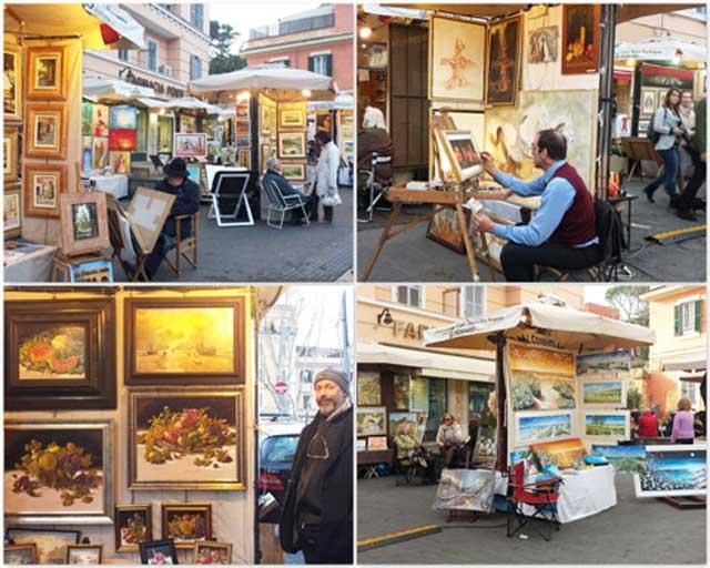 I pittori di via Margutta tornano a Ponte Milvio