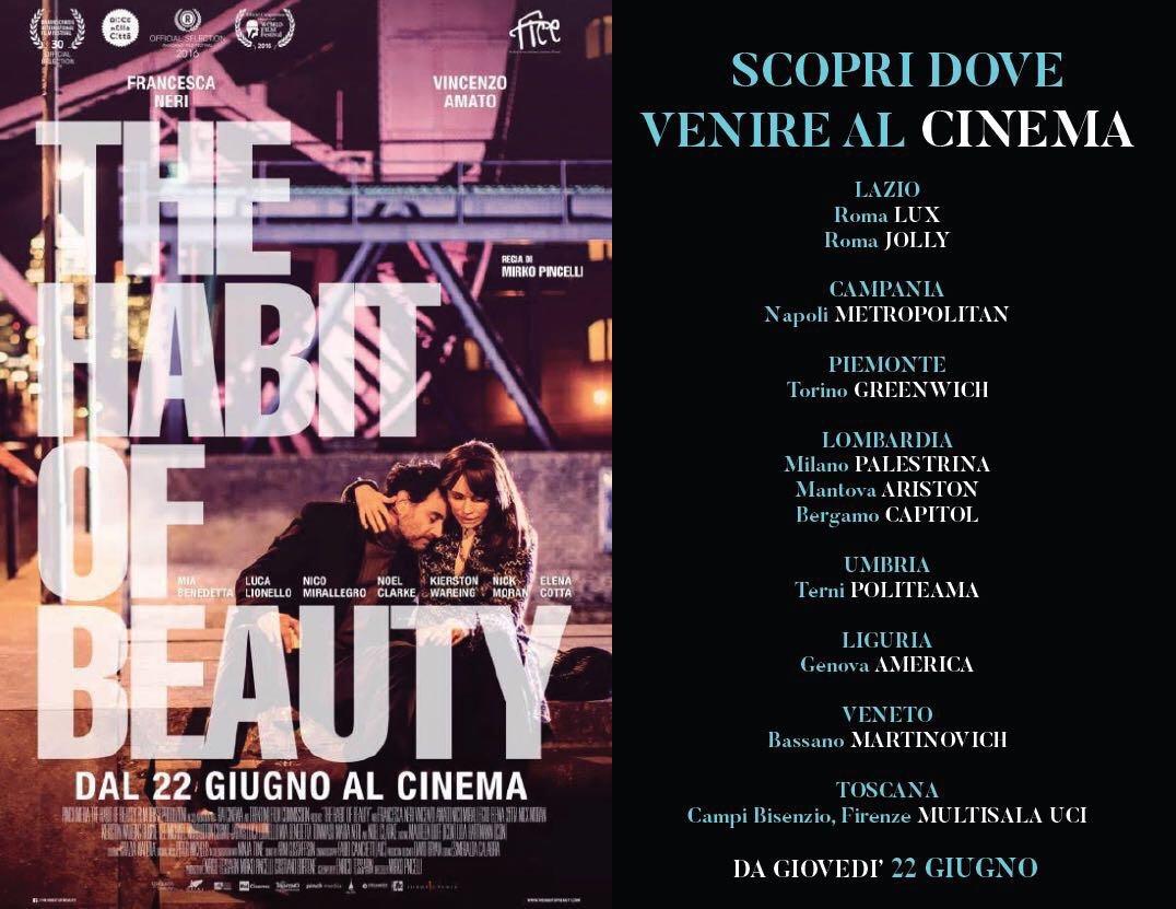 The Habit Of Beauty - Nei cinema dal 22 Giugno 2017