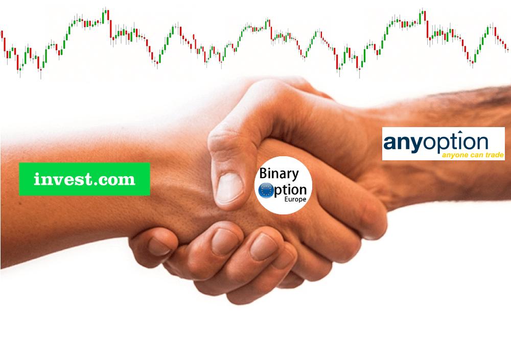 Invest.com e Anyoption si uniscono per formare un nuovo broker di trading CFD. Ecco cosa sta accadendo al mercato