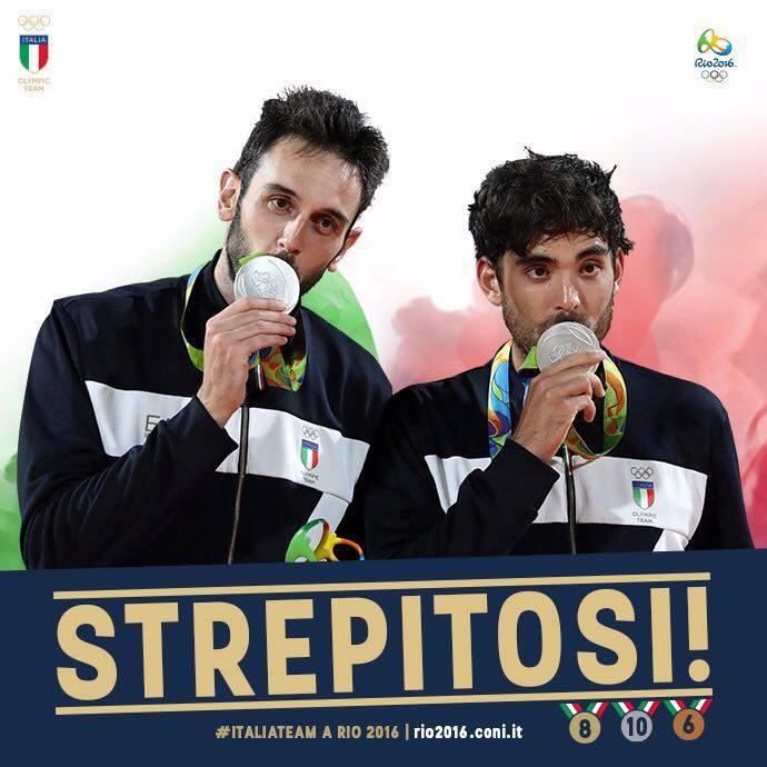 Storico argento per la coppia Nicolai-Lupo nel beach volley, Settebello sconfitto