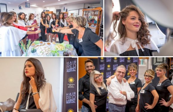 Red Carpet a Castelvetrano con gli hair stylist di Mirror