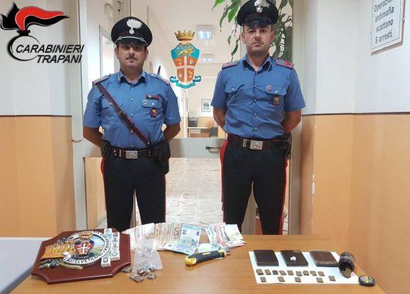 Azione antidroga a Castelvetrano: arrestati due extracomunitari