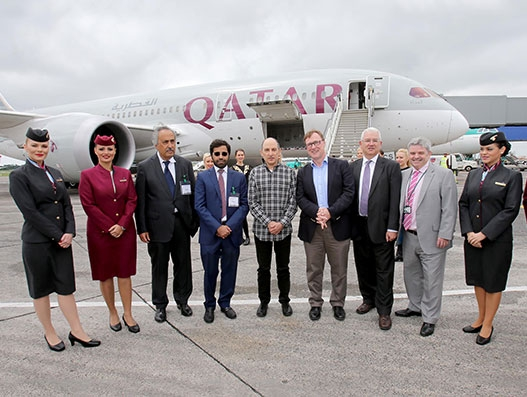 Qatar Airways connects Doha and Dublin with daily direct flights | Aviation
