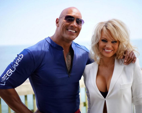 "Pamela Anderson si è unita al cast di ""Baywatch"""
