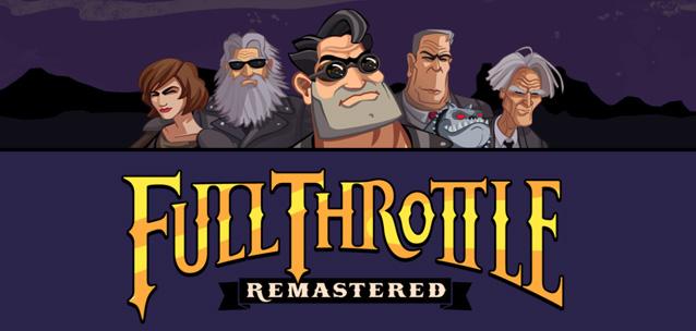 Full Throttle Remastered – la mitica avventura arriva su iPhone!