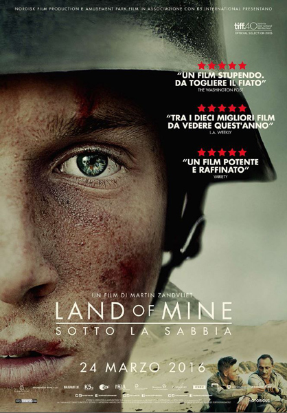 Recensione del film LAND OF MINE, una storia vera