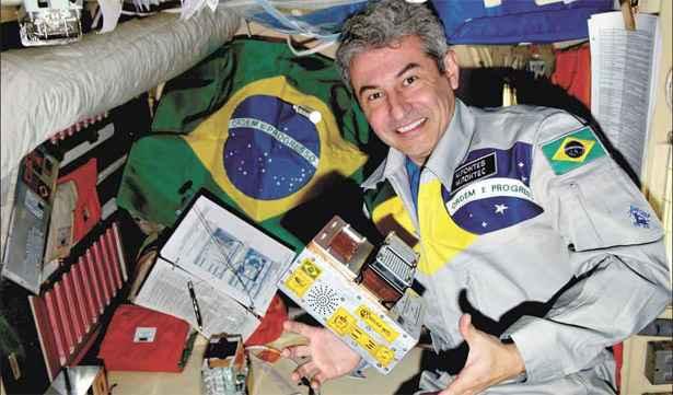 30 marzo 2006: Marcos Pontes è il primo astronauta brasiliano