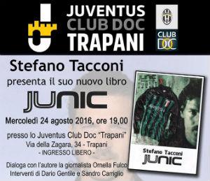 """Juventus Club Trapani: presentazione libro """"Junic"""" di Stefano Tacconi"""