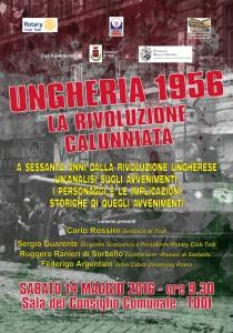 """Todi, riflessione su """"Ungheria 1956. La rivoluzione calunniata"""""""