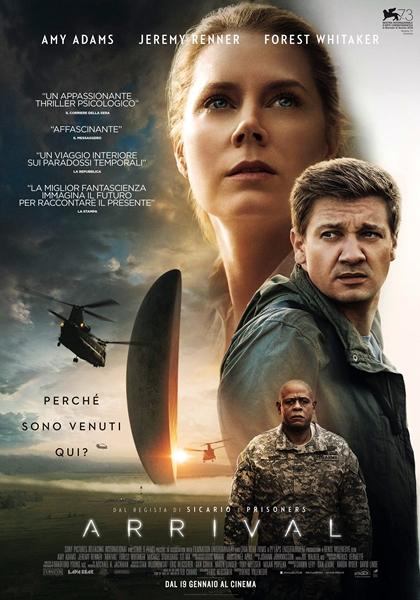 Recensione del film ARRIVAL: gli alieni arrivano sulla Terra ma non è facile capirsi!
