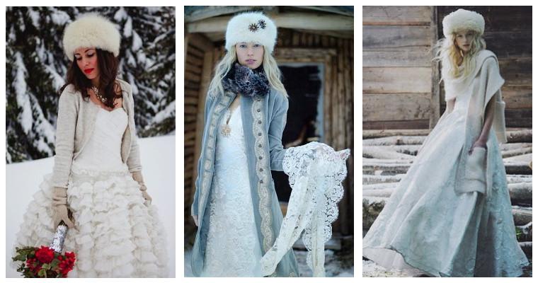 Sposa dì'Inverno 2017: più zarine o principesse?