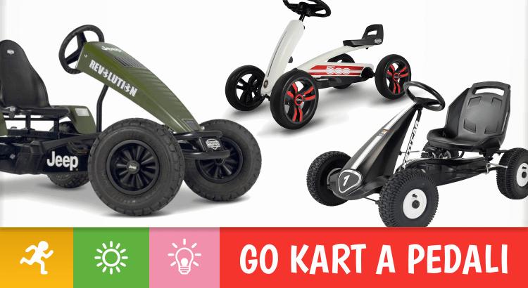 10 Go kart a pedali per accontentare la voglia di avventura di tutti i bambini, dai più piccoli ai più grandi