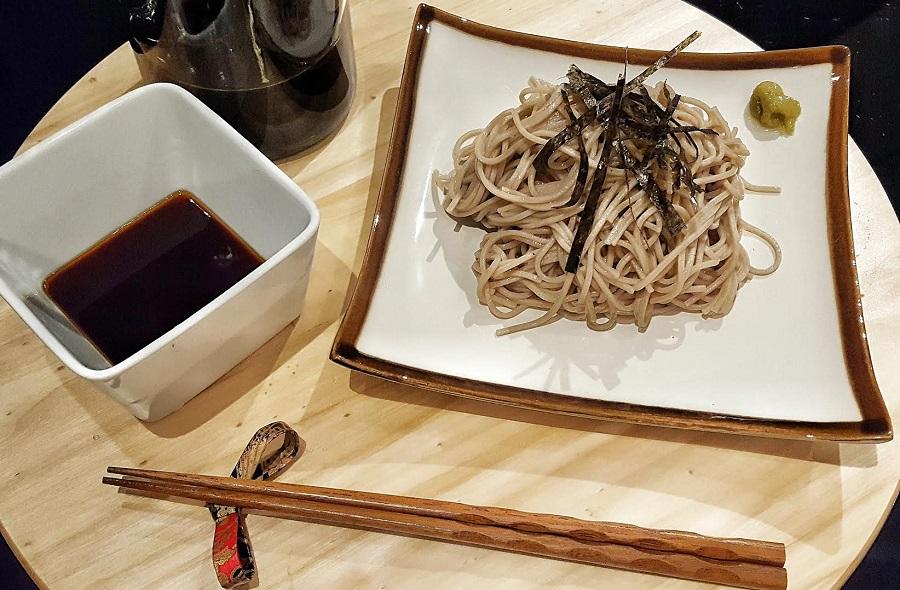 il mondo di Ayumi: Zaru soba noodles per l'estate
