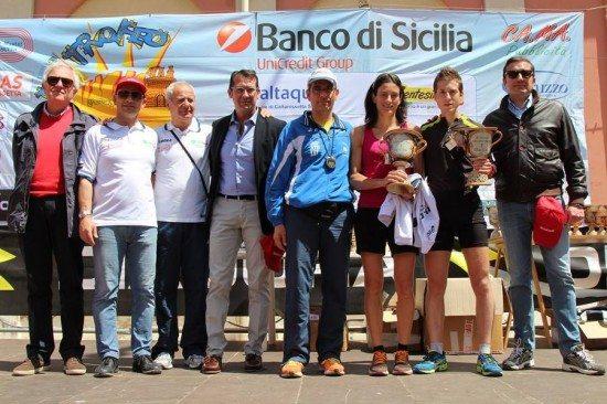 Al Trofeo Kalat a Caltanisetta vincono Alessio Terrasi e Barbara Bennici