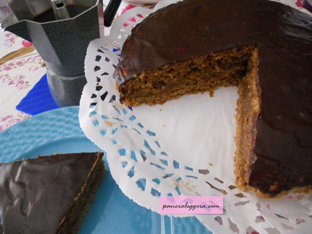 Torta moka superleggera con una ricetta senza lattosio