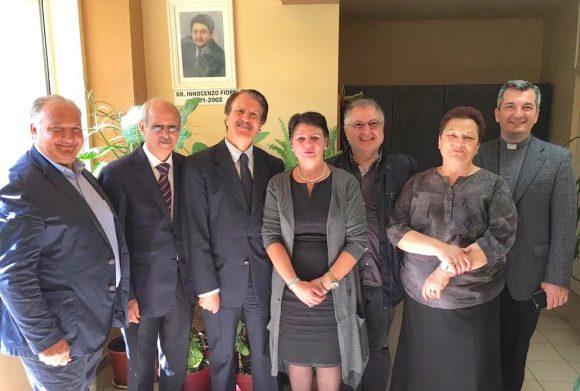 """MCL in Romania, visita Centro intitolato a """"Ninni Fiore"""""""