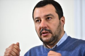 Matteo Salvini: i soldi ai terremotati, no ai clandestini