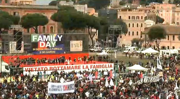 Family Day 2016: in piazza i cattolici contro la Cirinnà