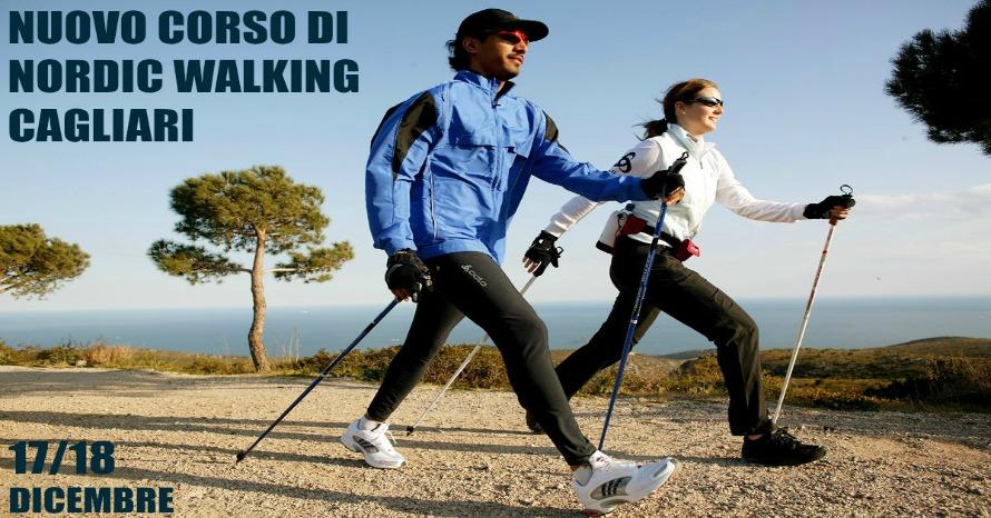 CORSO DI NORDIC WALKING A CAGLIARI: TECNICA 2/PB ANI CON DIPLOMA