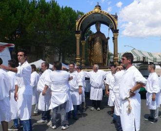 Consiglio comunale straordinario per la consegna delle chiavi della città di Gagliano al suo patrono...