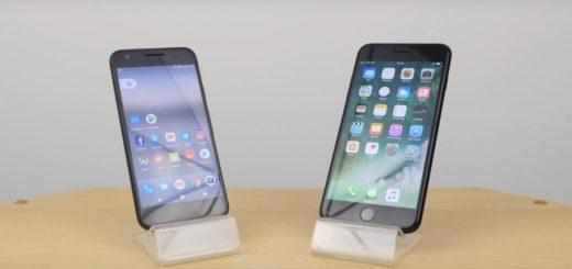 Il Pixel va testa a testa contro l'iPhone 7 nelle prove di velocità [Video]