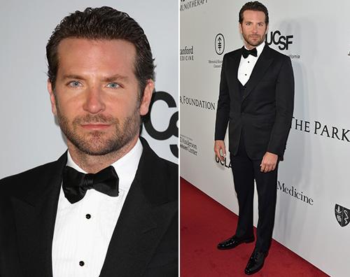 Bradley Cooper elegantissimo nella notte di Los Angeles