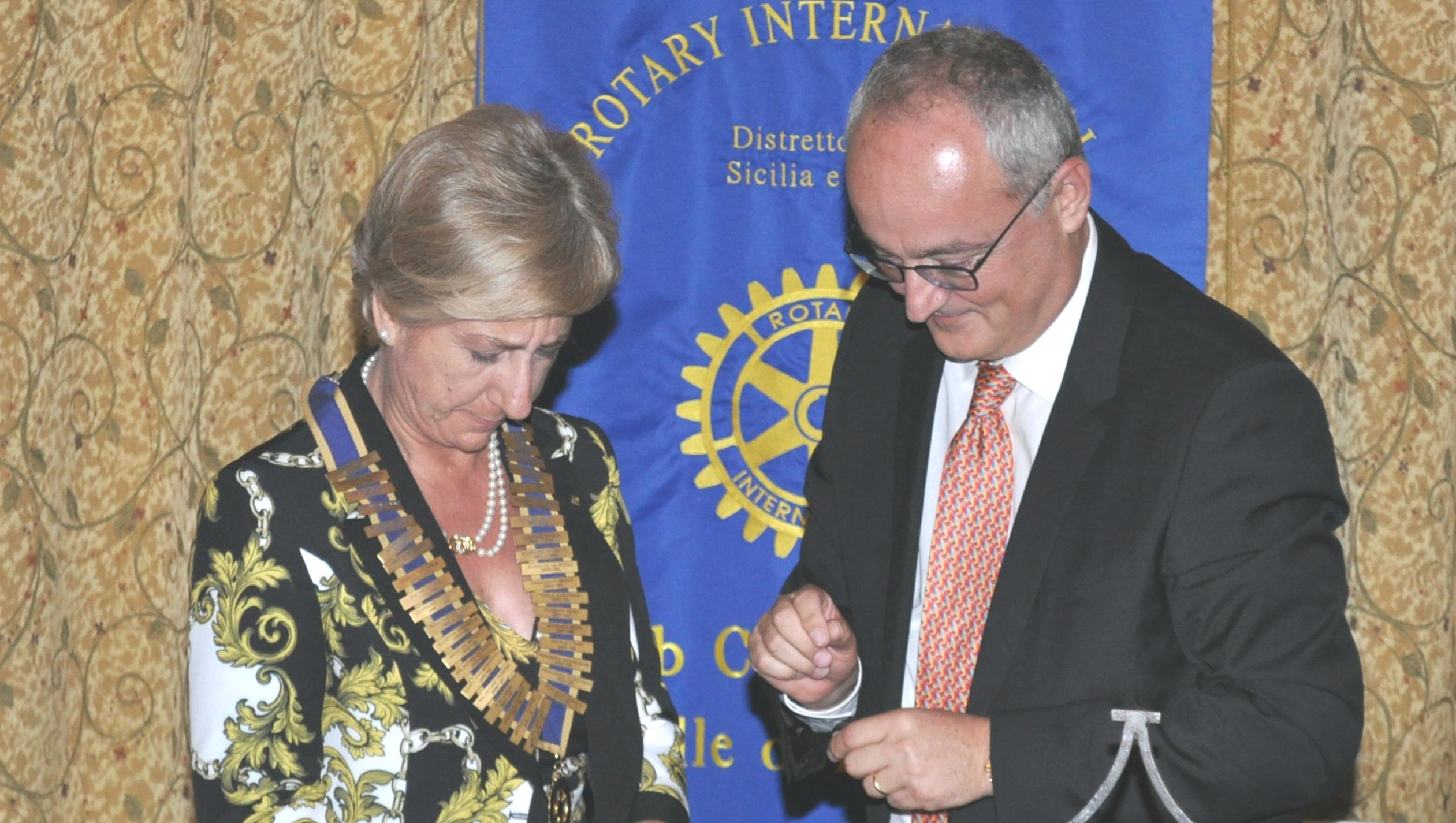 MariaRosa Barone nuovo presidente Rotary Castelvetrano