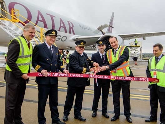 Qatar Cargo's inaugural freighter touches down in Pittsburgh | Air Cargo