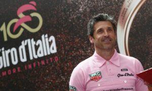 Patrick Dempsey, il dottor Stranamore è nel Bel Paese per il Giro d'Italia