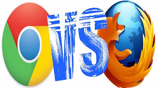 Chrome e Firefox, torna a entusiasmare la battaglia dei browser