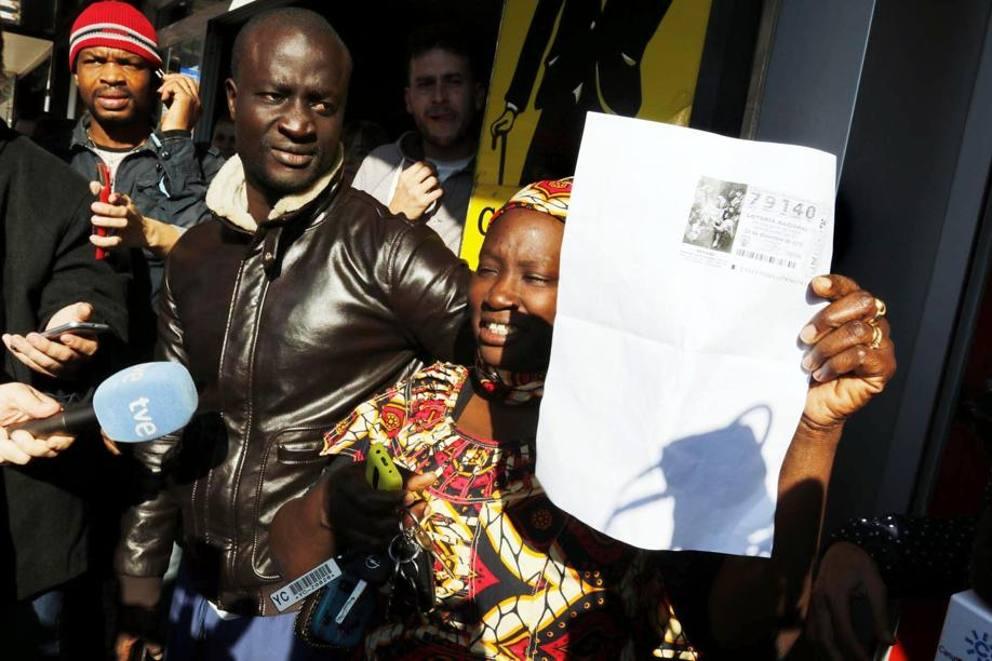 Immigrato senegalese vince la lotteria in Spagna