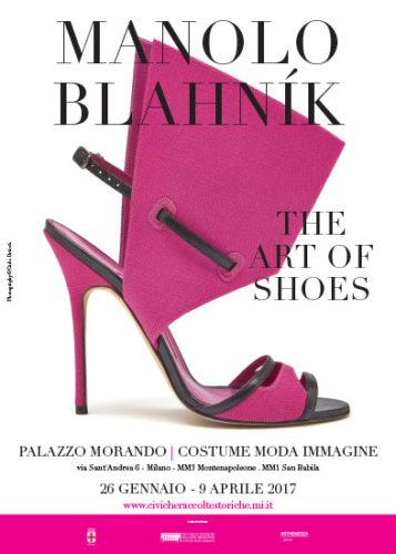 L'arte e la creatività di MANOLO BLAHNIK in mostra a Palazzo Morando