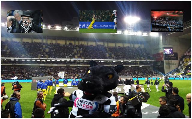 Calcio. Liga Nos. FC Boavista - FC Porto 0:1