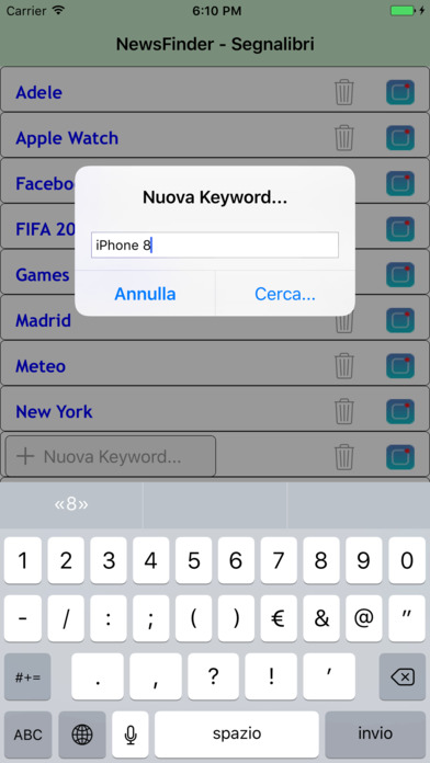 Free app Smart NewsFinder for iPhone and iPad
