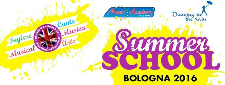 "TORNA LA ""SUMMER SCHOOL"" DI MUSIC ACADEMY"