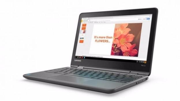 Lenovo Flex 11, un Chromebook convertibile corazzato e super autonomo