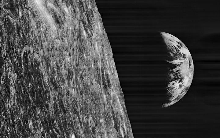 23 agosto 1966: Il Lunar Orbiter 1 scatta le prime foto della Terra dalla Luna