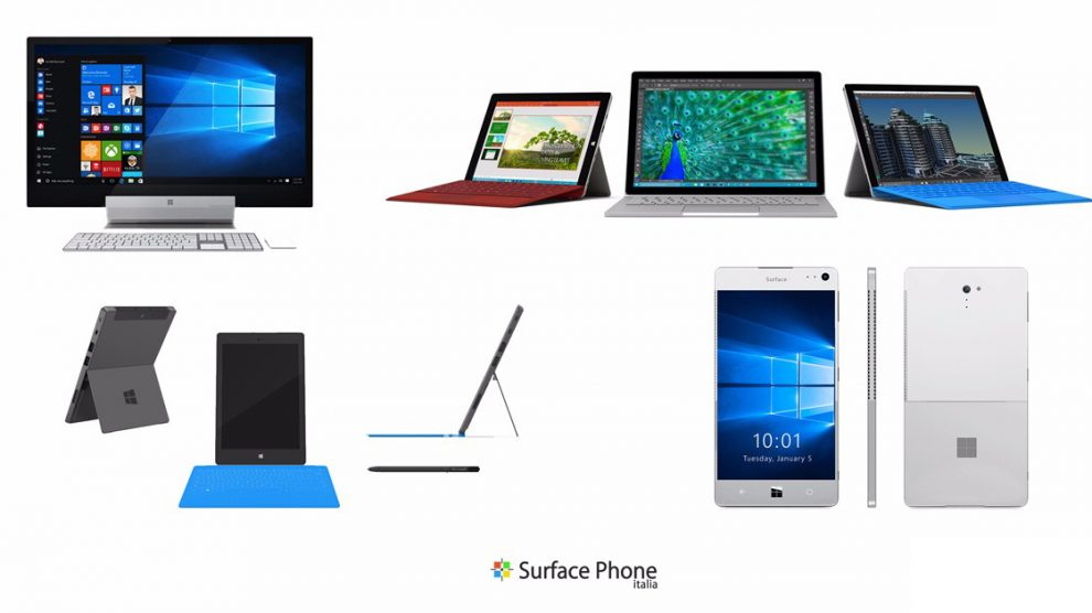 Microsoft Surface Phone, Surface Mini, Surface Book 2 e Windows 10 creators Update: ecco la mia lista dei desideri