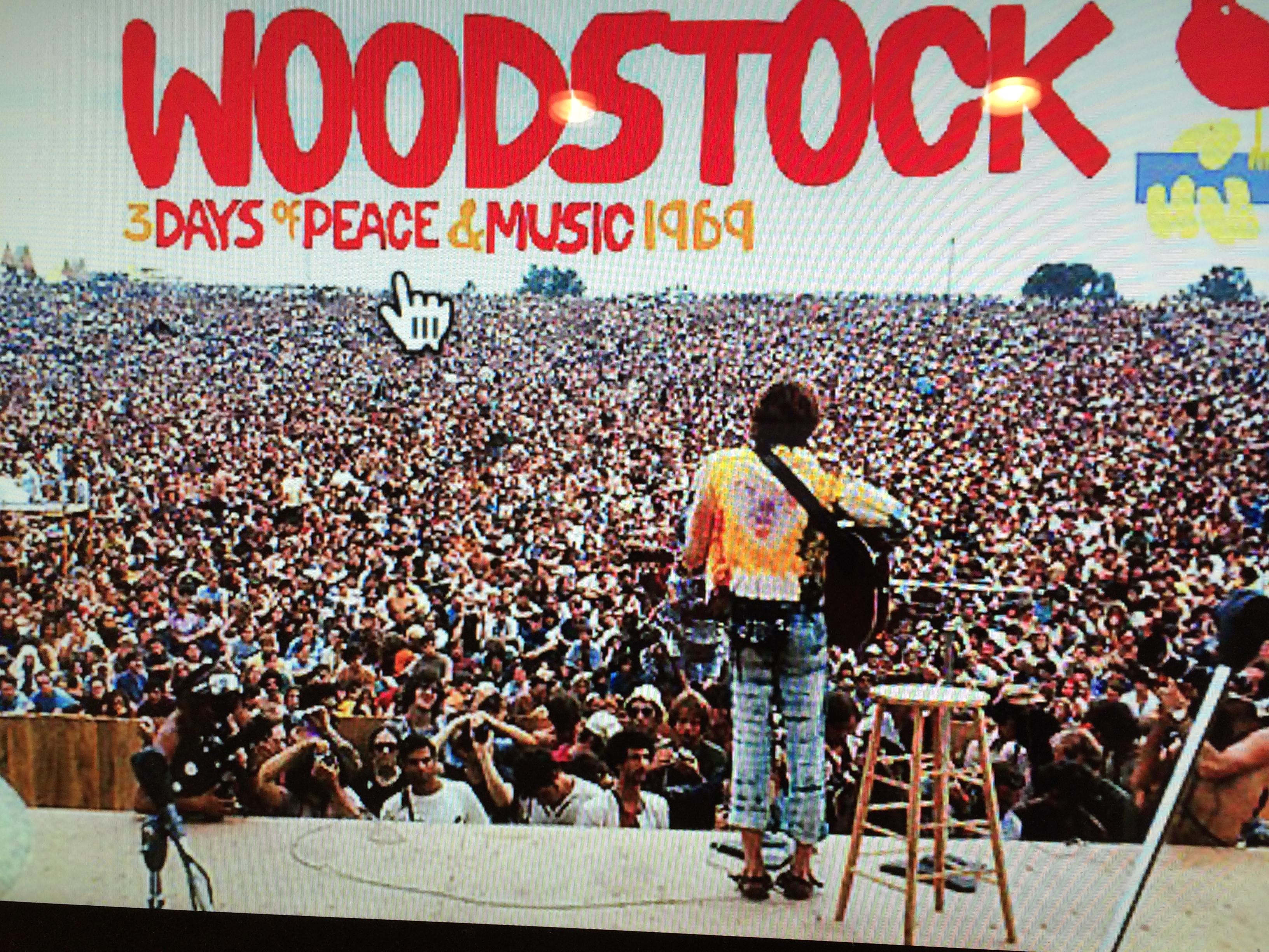 Il concerto di Woodstock, com'è nata la leggenda