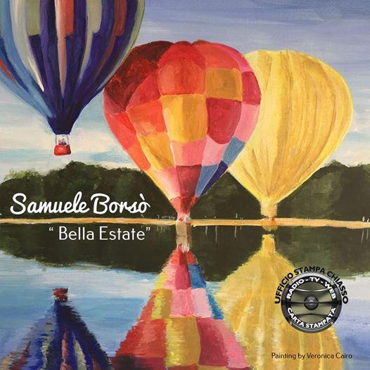 Samuele Borsò con il suo nuovo singolo Bella Estate