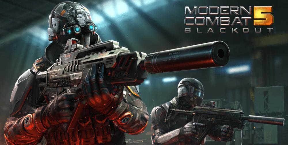 Modern Combat 5: Blackout uno dei migliori spara tutto gratis per windows 10