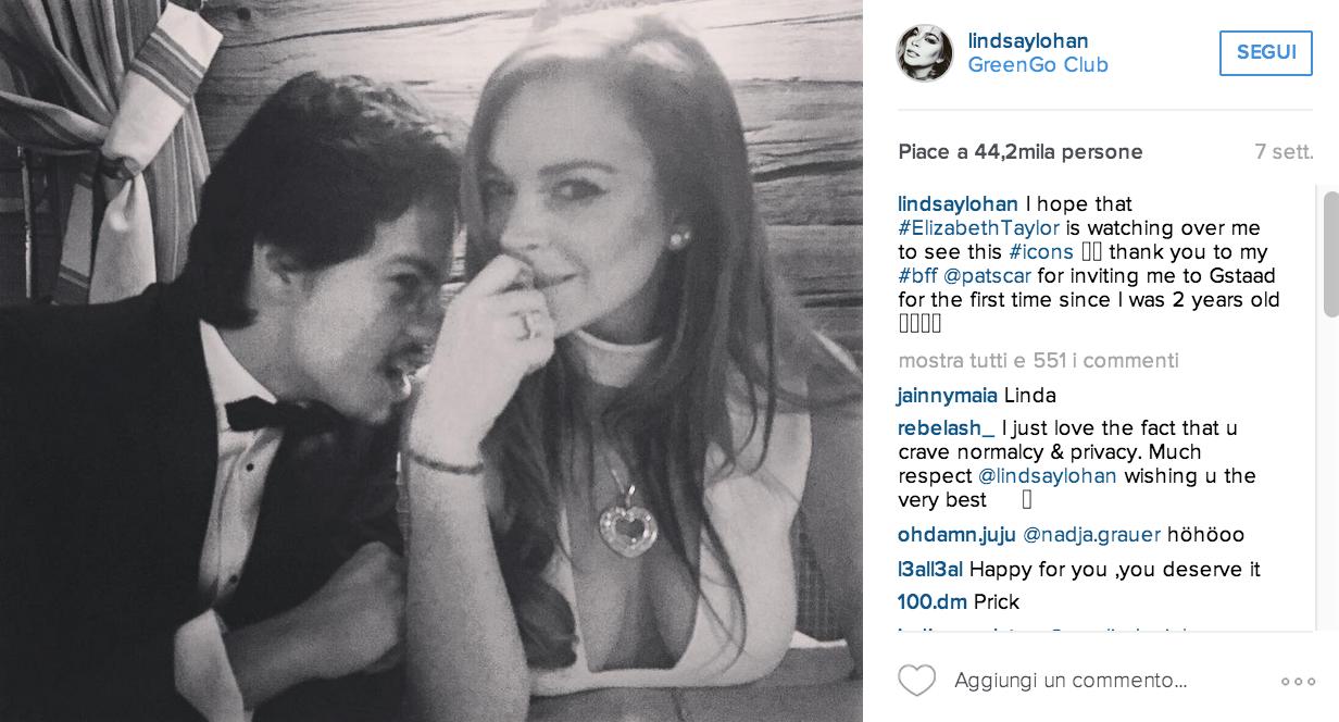 Lindsay Lohan ha trovato l'amore.