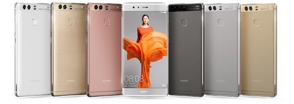 Huawei P9 e P9 Plus: caratterstiche e prezzi