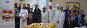 Chef Associazione Cuochi Ennesi a lezione presso l'IPS Federico II di Enna